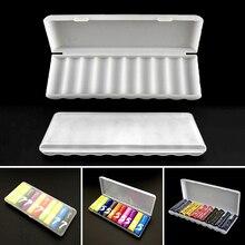 3 גדלים פלסטיק סוללה אחסון תיבת קשה מיכל מקרה עבור 10Pcs AAA/AA/18650 סוללה נייד Batterij ארגונית תיבה סיטונאי