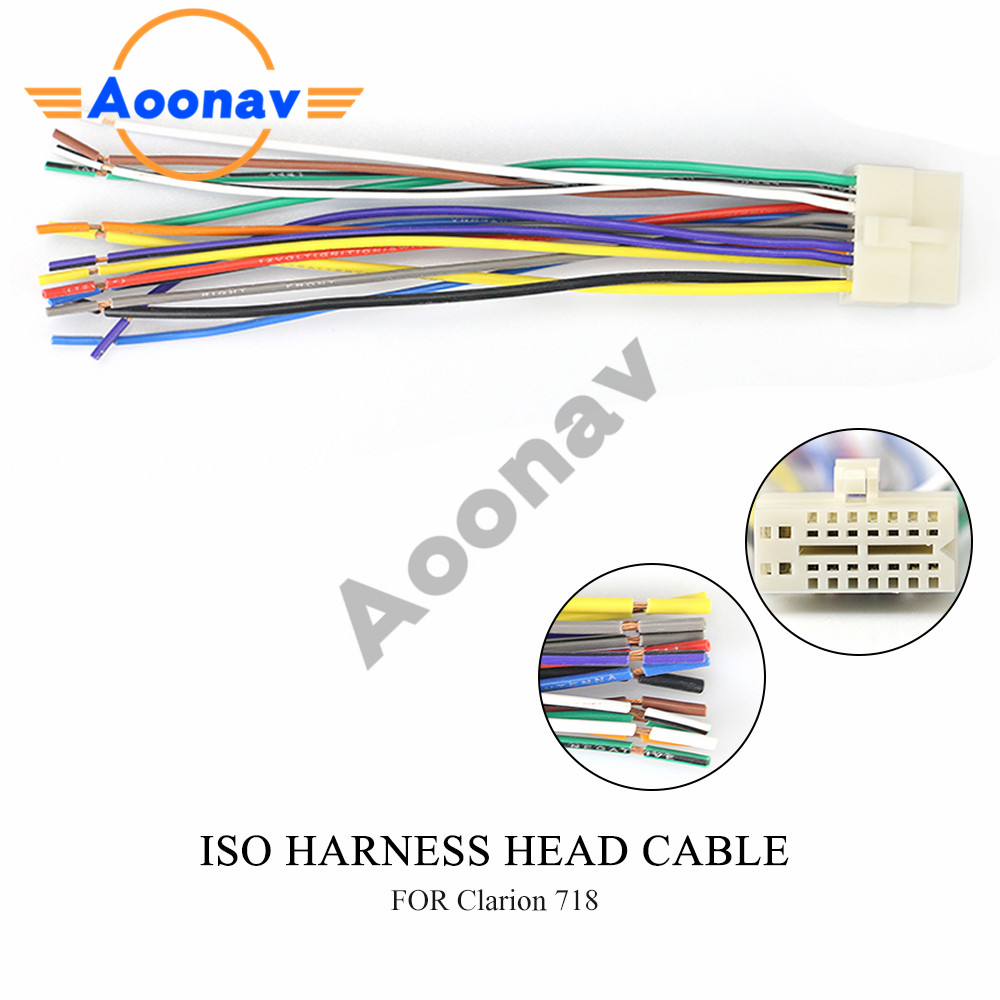 [DIAGRAM_3ER]  15 002 ISO standard HARNESS car Radio For CLARION Wire Cable Wiring Harness  Car Stereo Adapter Connector Car Adaptor Plug|Cables, Adapters & Sockets| -  AliExpress | Cable Wire Harness Standards |  | www.aliexpress.com