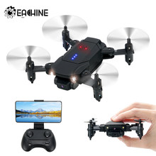 Eachine d83 palm-sized mini rc zangão com 2.4g wifi hd câmera altitude hold dobrável rc quadcopter rtf simples para controlar dron