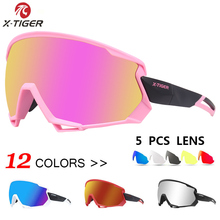 X-TIGER Cycling Glasses Polarized MTB Bike Cycling Sunglasses Wind Outdoor