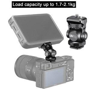 Image 1 - UURig R015 Cold Shoe Monitor Bracket Aluminum 360 Degree Adjustable Mount Bracket for Monitor DSLR Cameras