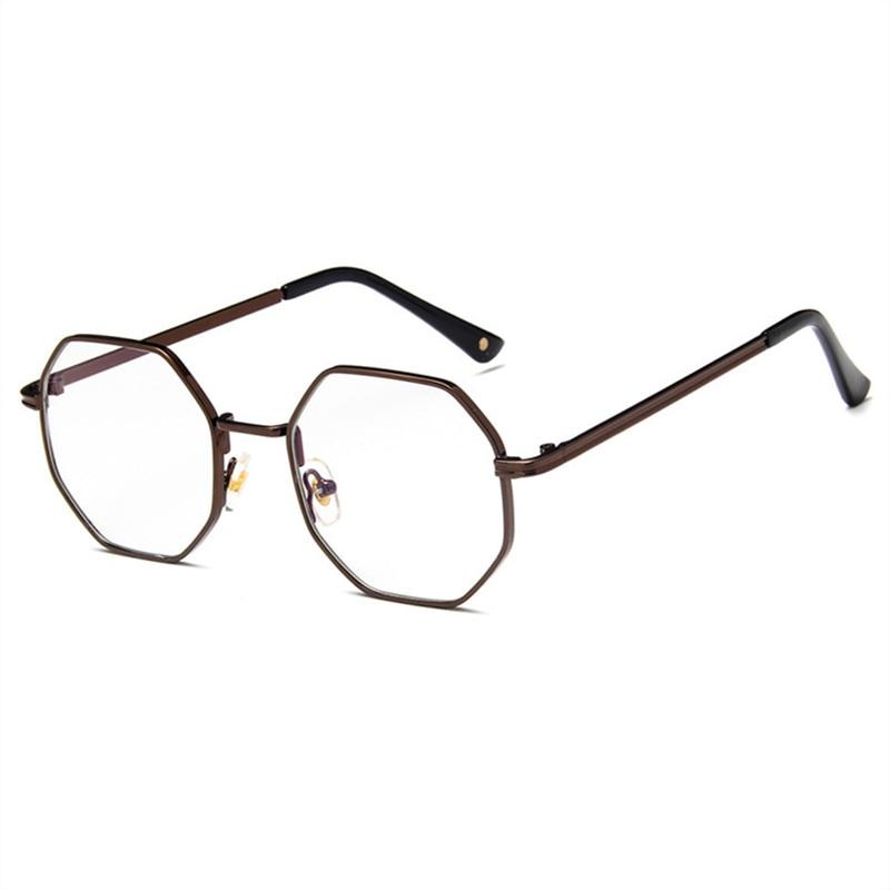 Мужские Винтажные анти-голубые легкие очки с круглой оправой женские близорукость оптическое зеркало простые металлические анти-синие про...