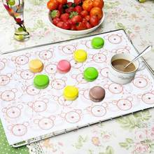 Silicone Macaron Mat Sheet Pad Pastry Baking Tool Accessories for Kitchen Bake Pan cake tools 42x29.5cm(China)