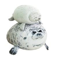 30/40/60cm Novelty Throw Seal Pillows Cute Sea Lion Plush Toys Stuffed Seal Plush Dolls for Kids Gift