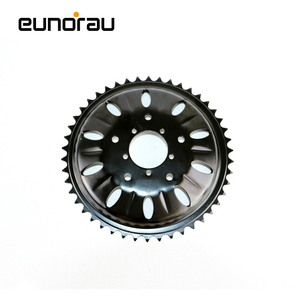 46T chainwheel for bafang 8fun mid drive motor BBSHD/BBS03 chain ring sprocket wheel crank set|chainwheel| |  - title=