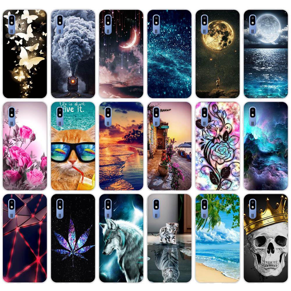 Case For Samsung Galaxy A2 Core SM-A260F SM-A260G 2019 Case Cover Soft TPU Back Bag For Coque Samsung A 2 Core A2Core A260F 5.0