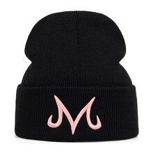 Новинка, Высококачественная брендовая зимняя шапка Majin Buu, вязаная шапочка из хлопка для мужчин и женщин, хип-хоп шапочки, кепки, шапки