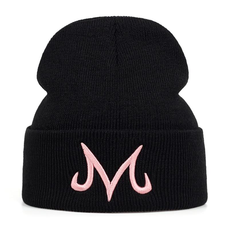 2019 New High Quality Brand Majin Buu Winter Hat Cotton Knitted Hat For Men Women Hip Hop Beanies Cap Hats Bone Garros