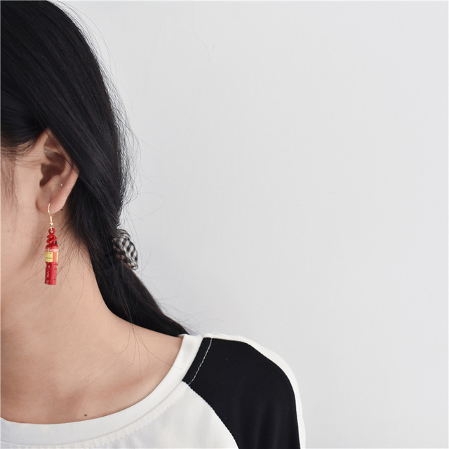 Fire Extinguisher Earrings 1