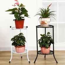 Stand-Tray Support Flower-Rack Plant-Stand Garden-Decoration Indoor Iron Living-Room