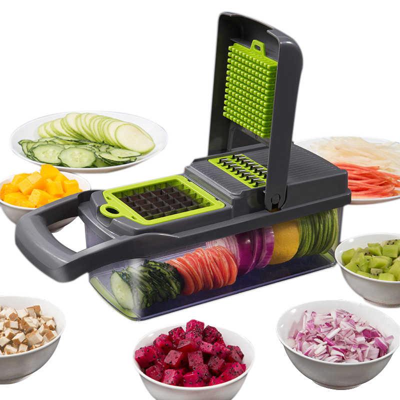 Cortador de legumes acessórios cozinha mandoline slicer cortador frutas descascador batata cenoura ralador queijo vegetal slicer ferramenta
