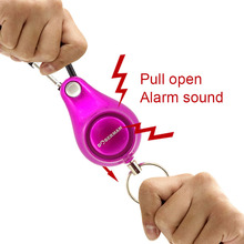 Personal Alarm Women Security Keyring Emergency Self Defense for Outdoor Survival Camping Backpack LFX-ING