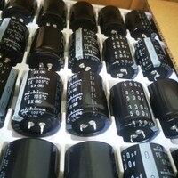 2 pces genuine novo nichicon gx 500v330uf 35x45mm capacitor eletrolítico 330 uf/500 v ce 105 graus gx 330uf 500v