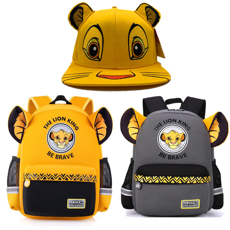 Toy Cartoon Backpack Plush-Doll Surprise Lion King Before Christmas Nightmare Haha Child