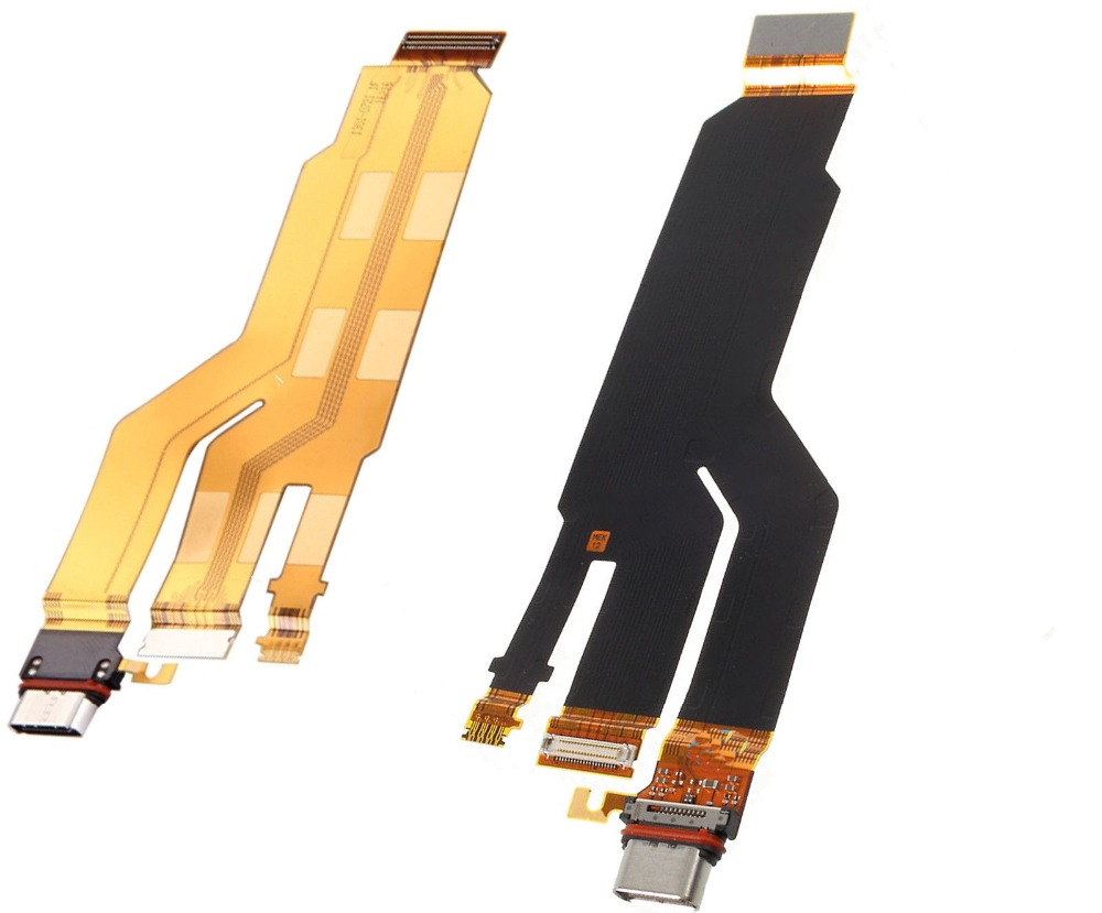 Charge Charging Port Dock Connector Flex Cable Replacement For Xperia XZ F8331 F8332