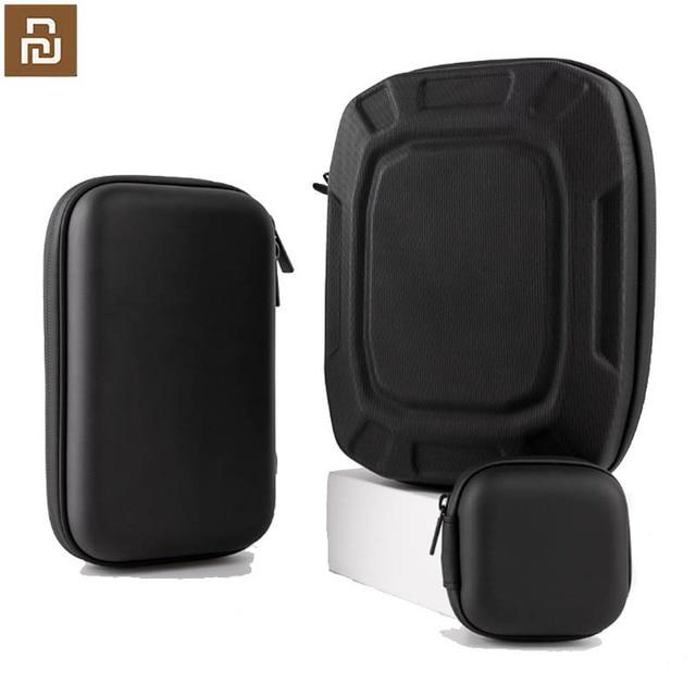 Xiaomi saklama kutusu kulaklık cep telefonu şarj cihazı mobil güç dijital ürün saklama çantası çok fonksiyonlu masaüstü depolama kaliteli