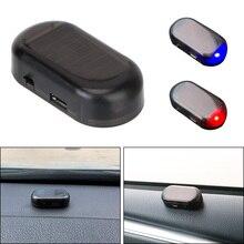 Anti Theft Caution Lamp Solar Powered Car Fake Security Light Wireless Warning Simulated Dummy Alarm LED Flashing Imitation