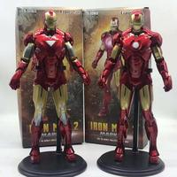 12inch 30cm Avengers 4 Endgame Infinity War deux styles IRON MAN 2 MARK IV MARK VI PVC 1/6TH Scale collectionner Figure
