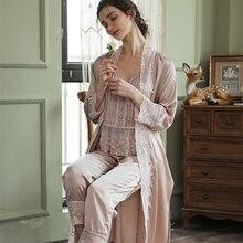 Sleepwear Robe Pajamas Long