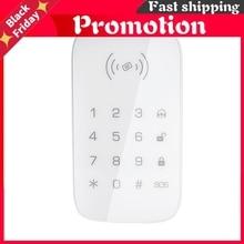 Wireless Touch Keypad For Pg103 Pg106 Pg107 W2b W3b W4b Home Security Wifi Gsm Alarm System Rfid Card Disarm Password Keypad