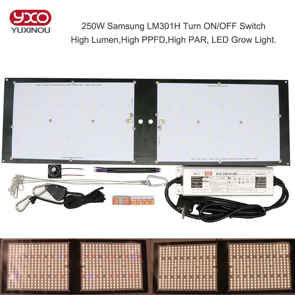 Dimmerabile LED Coltiva La Luce UV IR Quantum Tecnologia LED Bordo di Samsung LM301H V2 120W 240W 320W 480W Con Meanwell Driver di 7 anni di Garanzia