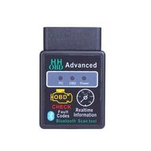 Mini Elm327 Car Diagnostic Tool Bluetooth OBD2 V2.1 Elm 327 V 1.5 OBD 2 Scanner Elm-327 OBDII Adapter Auto Diagnostic Tool autool car obd2 connector extension adapter auto obd 2 extend obd 16pin connect parts for univeral obdii elm327 scanner adapt