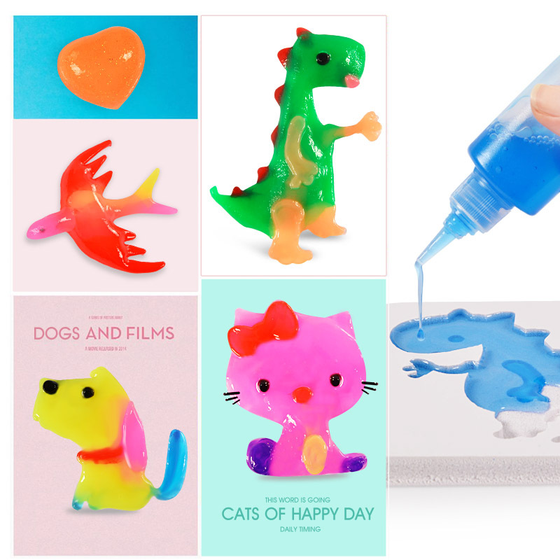Magic Water Baby Toys Magic Water Elves Sea Baby Homemade Diy Handmade Material  Birthday Gifts For Children Girls Toys