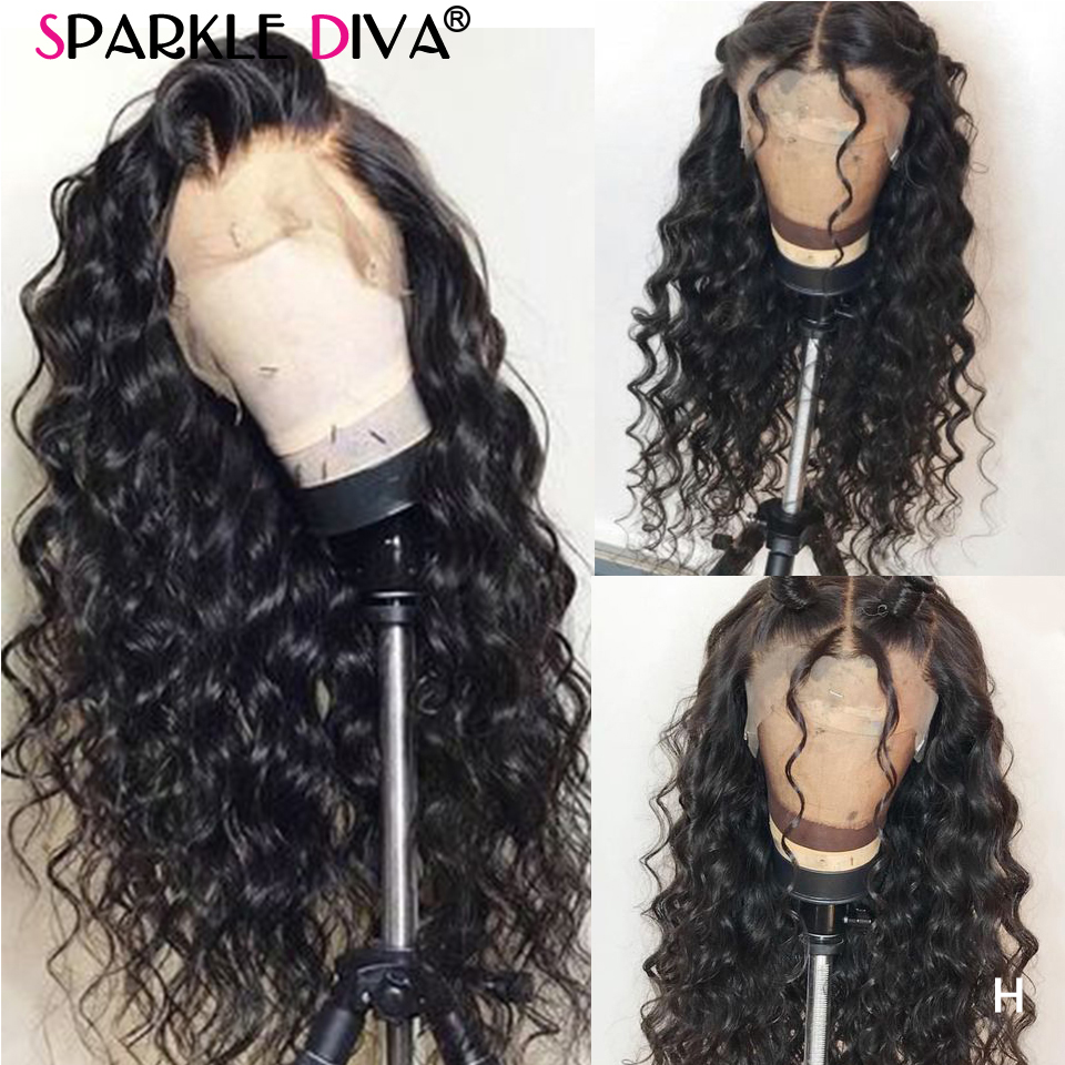 Loose Wave 360 Lace Frontal Wig Pre Plucked Peruvian Human Hair Wigs For Women 150% Den Remy Glueless Lace Front Human Hair Wigs
