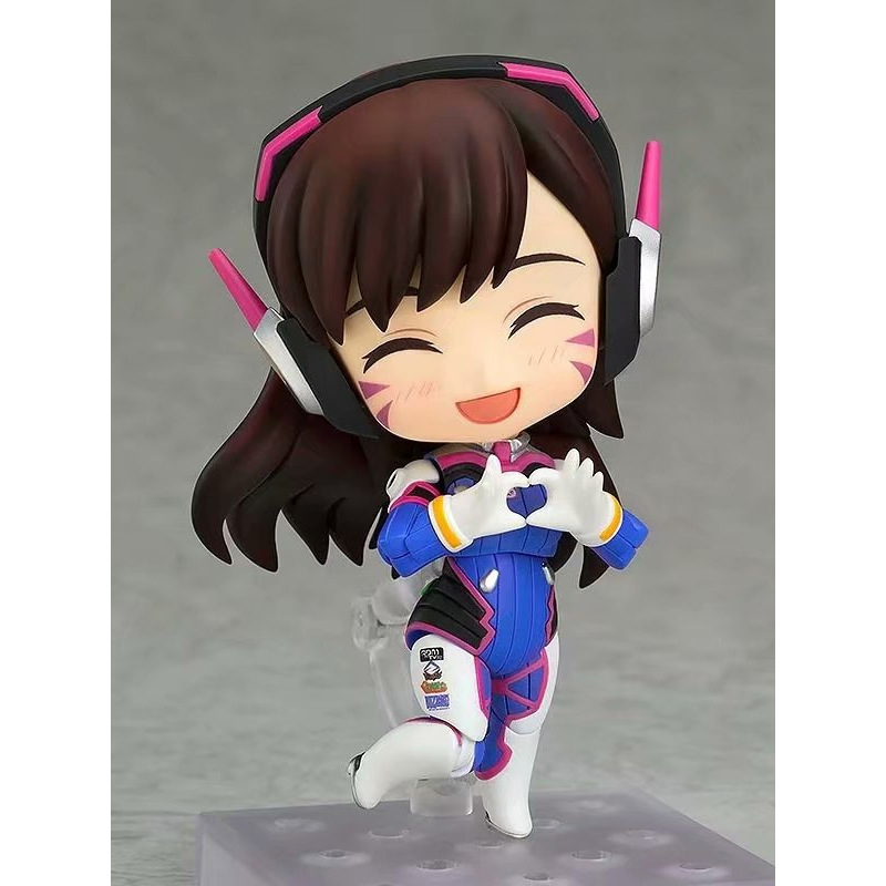Very Cool and Hot Selling Q Version of The Clay Overwatch Dva Song Hana Doll Pvc Boxed Model Figure Toy for A Friend or Child 2