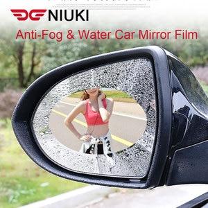 Image 1 - רכב מדבקת אנטי ערפל אנטי מים רכב Rearview מראה מגן סרט רכב מראה חלון ברור סרט קרום אנטי בוהק עמיד למים