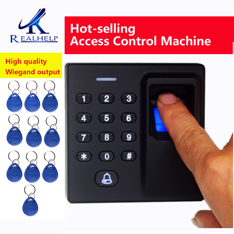 High Quality Door Open Fingerprint Access Control System Fingerprint  Machine MINI FP Access Control Wiegand Output