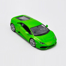 Welly 1/24 1:24 Lamborghini Huracan LP610-4 Sport Racing Car Vehicle Diecast Display Model Birthday Toy For Kids Boys Girls