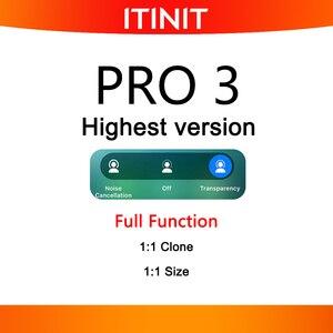 Newest Pro 3 Tws Noise Canceling Wireless Earphone I90000 Pro Tws I7 inpods 12 Tws Pro Charging Case white i99999 Plus Tws