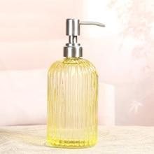 Soap Shampoo Dispenser Liquid Hand Bottle with Stainless Steel Pump for Bathroom Kitchen _WK