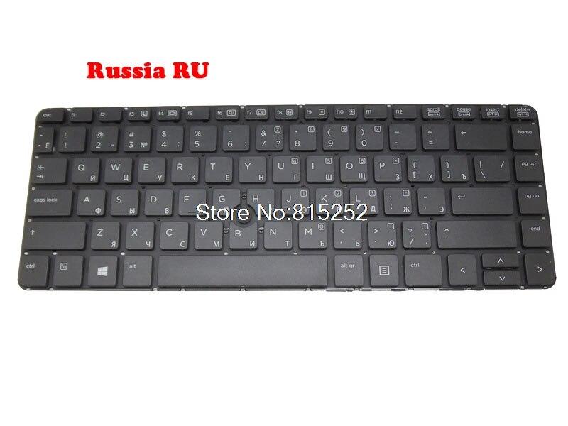 Клавиатура для ноутбука HP 640 G1 645 G1, Исландия/Румыния RO/Россия/Швейцария SW/Турция TR 738688-14 738688-BG1 738688-251 738688-271
