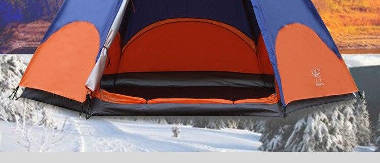 Mongolian Yurt Tent Fishing Mosquito Net Picnic Family Outdoor Camp Summer Beach Camping Tent 5 Person Waterproof (3)