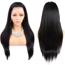 Parrucca frontale in pizzo HD 13x6 parrucca anteriore in pizzo dritto parrucca per capelli umani Maxine Remy per donne nere 150% parrucche frontali in pizzo