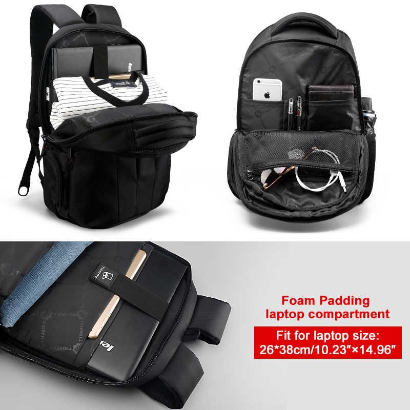 خصم كبير على حقيبة ظهر مضادة للسرقة للرجال مقاس 15.6 بوصة حقيبة ظهر للكمبيوتر المحمول حقيبة سفر بشحن USB للبيع بتخليص التسليم السريع بأقل سعر