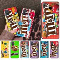 M & M, caja de Chocolate, caja del teléfono para Samsung Galaxy A21S A01 A11 A31 A81 A10 A20E A30 A40 A50 A70 A80 A71 A51