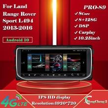 Por la tierra Range Rover Sport L494 2013-2016 Smart Multimedia reproductor de Video 8 + 128G deporte L494 Radio GPS Android 10,0 4G navegación