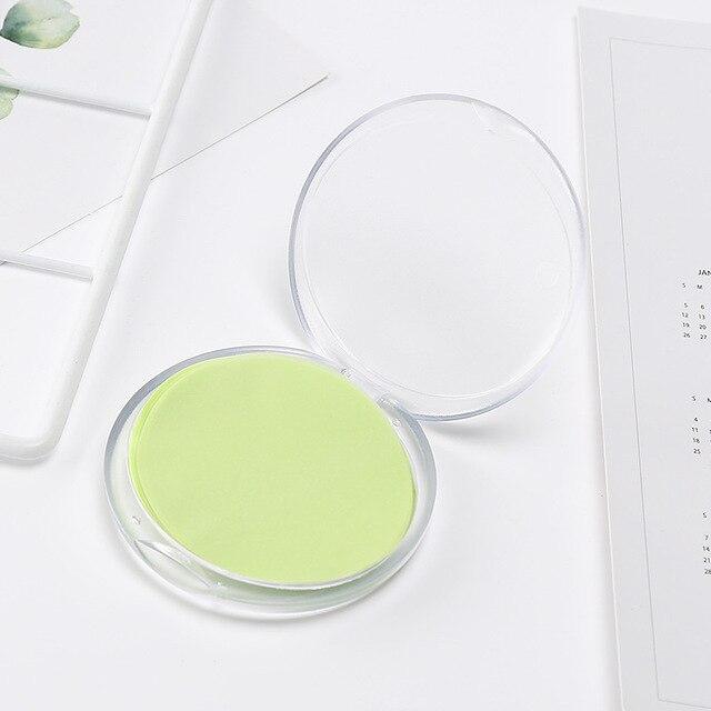 50pcs/set Portable Disposable Rose Flower Sea Salt Bath Paper Soap Hand-washing Soap With Soap Box 1