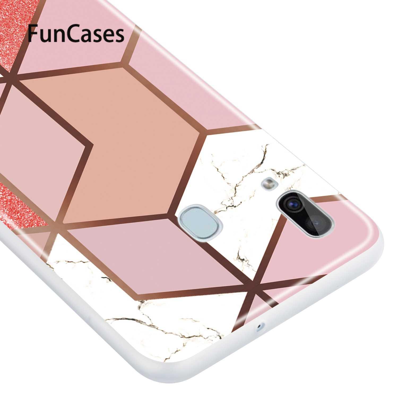 Tembus Smartphone Cover Funda Samsung A40 Lucu Kasus Penutup Silikon Lembut Pelindung S Funda Samsung Galaxy Capa A40