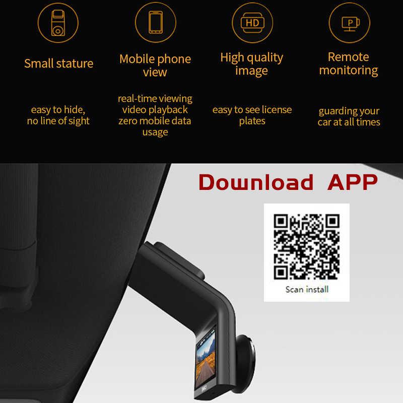 Xiaomi Norma Mijia del Precipitare Della Macchina Fotografica 360 Dash Cam G300 1080P Piccola Statura di Immagini di Alta Qualità A Distanza di Monitoraggio 4 Pieno F2.2 versione cinese
