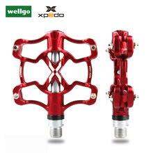Xpedo xmx14ac сверхлегкие велосипедные педали из алюминиевого