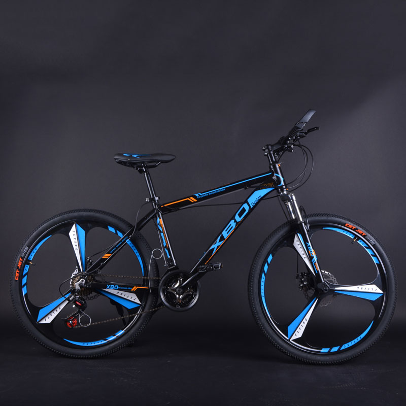 Bicycle Aluminum Alloy Mountain Bike 26 Inch Speed Shift One Wheel Double Disc Brake Shock Absorber Men And Women