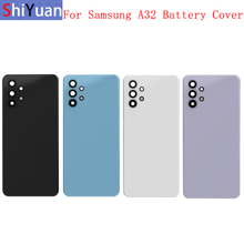 Battery Cover Rear Door Housing Back Cover For Samsung A32 A52 A72 4G A325 A525 A725 A325FBattery Cover with Camera Lens Logo