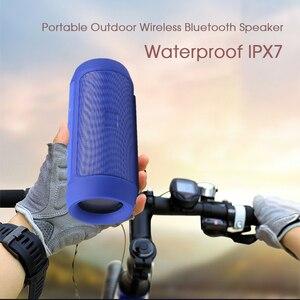 Image 5 - Портативная Bluetooth Колонка KEBIDU высокой мощности, Беспроводная Громкая Колонка s, звуковая панель для компьютера, музыкальный плеер, водонепроницаемая IPX7 колонка