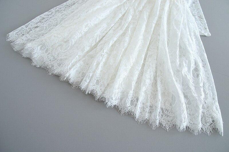 70-5-White Lace Girls Dress