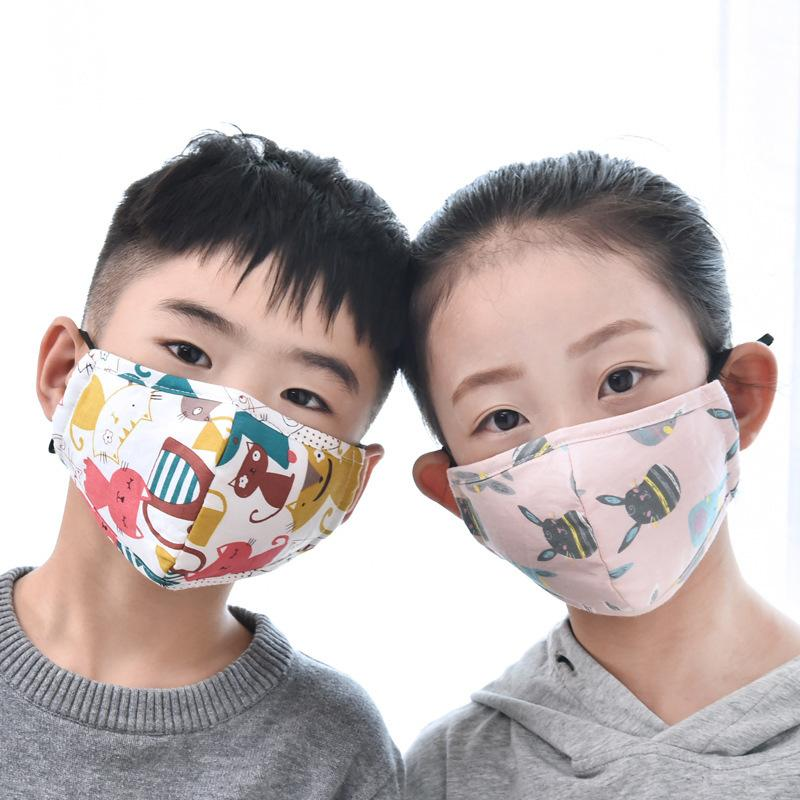 1PCS Disposable Mouth Mask Children Cartoon Sunscreen Face Mask Thin Breathable Comfortable Kids Mouth Mask For 3-12years Kids