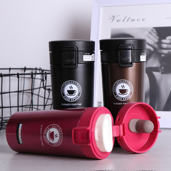 HOT Premium Travel Coffee Mug Stainless Steel Thermos Tumbler Cups Vacuum Flask thermo Water Bottle Tea Mug Thermocup aks stainless steel thermos cups thermocup insulated tumbler vacuum flask garrafa termica thermo coffee mugs travel bottle mug